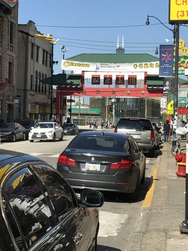 Chinatown Gate at Wentworth and Cermack