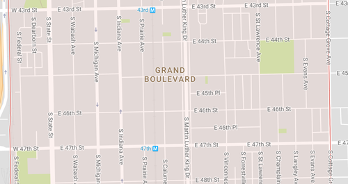 Elongated Blocks Grand Boulevard