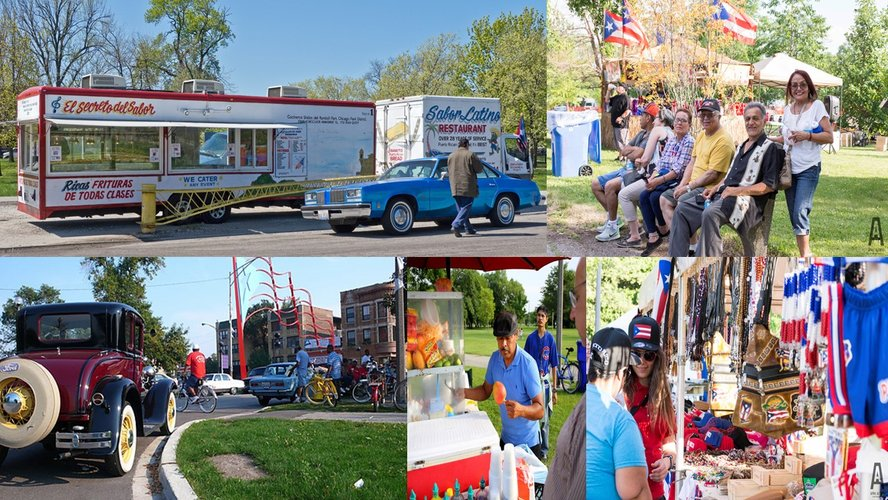 Humboldt Park Center Vendors/Attractions